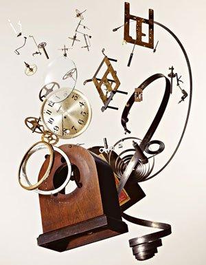 Falling clock 385