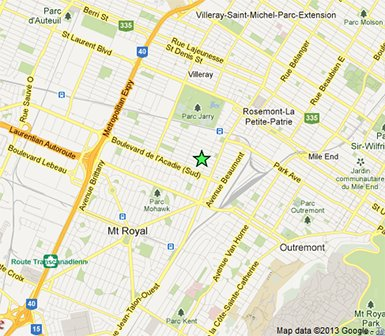 Next Door Café: The Poem Google Map