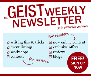 Sign Up for the Geist Newsletter