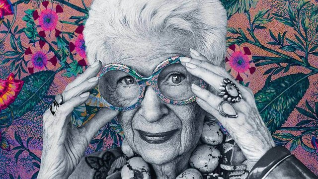 Iris Apfel, geriatric fashion icon