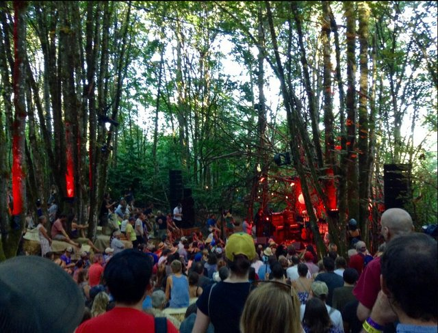 Woods stage more