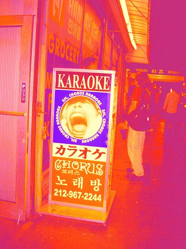 Karaoke at the Lantzville - Geist com