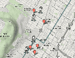Google Map of Montreal.
